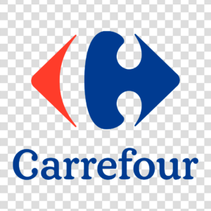Logo Carrefour Vertical Png