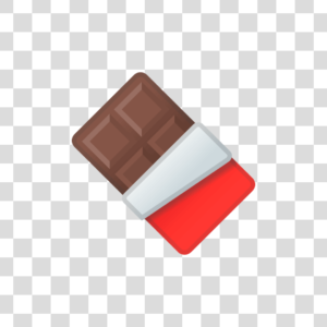 Barra chocolate Png
