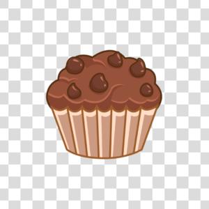 Cupcake chocolate Png